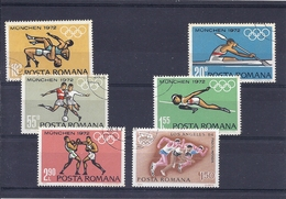 180030130  RUMANIA  YVERT  Nº 2688/93 - 1948-.... Repúblicas