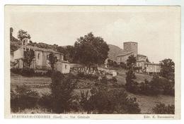 ST ROMAN De CODIERES Près De Sumène - Vue Générale - Voyagée 1939- Bon état - France