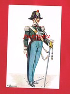 La Garde Suisse Au Vatican Gendarme En Petite Uniforme Carte Signée Illustrateur - Vatican