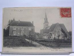 72 - EVAILLE - EGLISE ET PRESBYTERE - 1911 - France