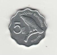 5 FRANCS ANJOUAN 2008 - Comores