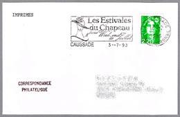 LES ESTIVAES DU CHAPEAU - SOMBRERO - HAT. Caussade 1993 - Textiles