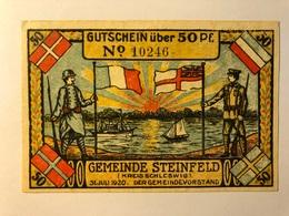 Allemagne Notgeld Steinfeld 50 Pfennig - [ 3] 1918-1933 : République De Weimar