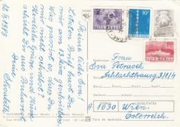 RUMÄNIEN 1983 - 4 Fach MIF Auf Ak BUCAREST, Viele Autos - 1948-.... Republiken