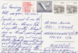 MLINI 1966 - 4 Fach MIF Auf Ak - 1945-1992 Sozialistische Föderative Republik Jugoslawien