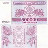 Georgia - 500000 Kuponi 1994 UNC Ukr-OP - Géorgie