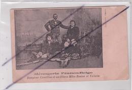 Ménagerie Franco-Belge.Dompteur Camillius Et Ses Elèves Melle Rosine Et Victoria (Cirque) - Circo