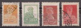 Russia USSR 1925, Michel 271IAX-274IAX, Used - Usati