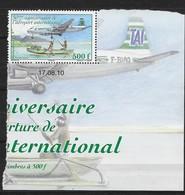 2010  Polynésie Française N° 929  Nf** . MNH . (coin Daté) . Centenaire De L'aéroport International - Polynésie Française