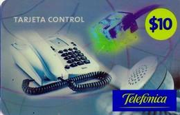 TARJETA TELEFONICA DE ARGENTINA, PREPAGO. TLF-PRE-014N, $10, TARJETA CONTROL. (153) ALCARD. - Argentina