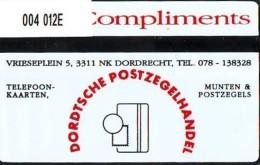 Telefoonkaart  LANDIS&GYR  NEDERLAND * RCZ.004.2  012E * Dordtsche Postzegelhandel  * TK * ONGEBRUIKT * MINT - Nederland