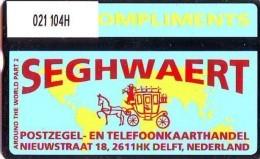Telefoonkaart  LANDIS&GYR  NEDERLAND * RCZ.021  104H * Seghwaert Around The World Part 2 * TK * ONGEBRUIKT * MINT - Nederland