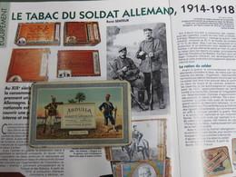 SUPERBE BOITE DE CIGARETTES ALLEMANDES DE LA GUERRE 1914/1918 !!! - 1914-18