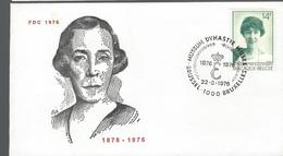 Nr 262 Jaar 1976 Koningin Elisabeth - FDC