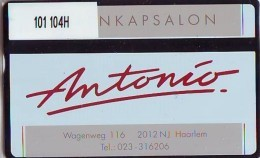 Telefoonkaart  LANDIS&GYR  NEDERLAND * RCZ.101  104H * ANTONIO * TK * ONGEBRUIKT * MINT - Nederland