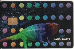 SWITZERLAND(chip) - Iguana, Landis & Gyr Demo Card, Tirage 2000, 10/96, Used - Switzerland