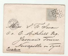 1880 NETHERLANDS COVER 12c Stamps To Newcastle GB - Period 1852-1890 (Willem III)