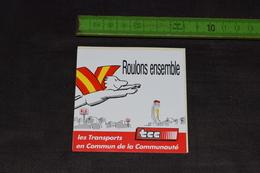 TCC Les Transports En Commun De La Communauté - Autocollants