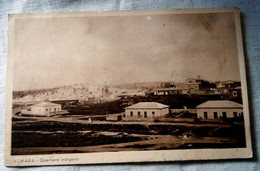 CPA  Postcard 1936 ERITREA Asmara QUARTIERE INDIGENO - Eritrea