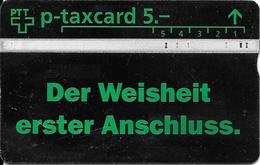 PTT P: 407L Messe Basel. Der Weisheit Erster Anschluss - Switzerland