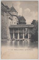 Chateau De Chillon - Le Pont Vernois - Photo: Jullien Freres - VD Vaud