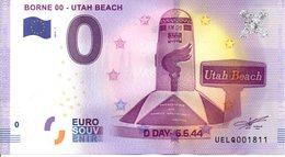 Billet Touristique 0€ Borne 00 - Utah Beach 2017-1 (50) - EURO