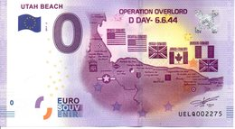 Billet Touristique 0€ Utah Beach 2017-2 (50) - EURO