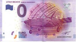Billet Touristique 0€ Utah Beach - Musée Du Débarquement 2017-2 (50) - EURO