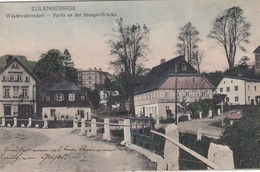 Eulengebirge - Wüstewaltersdorf - Partie An Der Stengel-Brücke - Schlesien