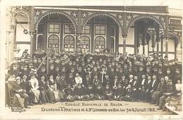 Musique Municipale De Rouen - Excursion à Hastings Et à St Léonards On Sea Les 7 Et 8 Juillet 1912 - Rouen