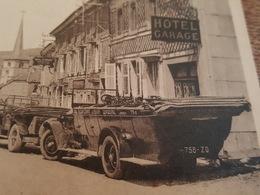 Gerbépal - Grande Rue - Beau Plan Sur Les Autos De L'Hotel - Francia