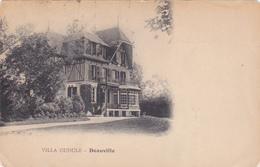 Cpa Deauville - Villa Gudule - Deauville