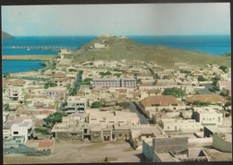 Postal Cabo Verde - Cape Verde - Ilha De S. Vicente - Cidade Do Mindelo - Vista Parcial Da Cidade E Porto - Postcard - Cap Vert