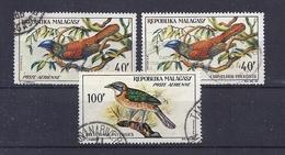 180030184  MADAGASCAR  YVERT  AEREO  Nº 89/91 - Madagascar (1960-...)