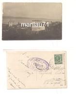 M5997 Militari Albania 1919 Posta Militare Censura Fotocartolina Viaggiata - War 1914-18