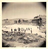 Jordania - Original Photo, - Le Forum De Djerach, Gerasa - Voir Dos 2 Scans - Lieux