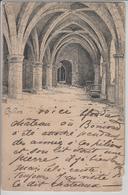 Chillon - Interieure - Künstlerkarte Meltzer - VD Vaud