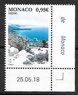 Monaco 2018 - Yv N° 3142 ** - Les Vues Spectaculaires (Monaco Sous La Neige)  - SEPAC - Unused Stamps