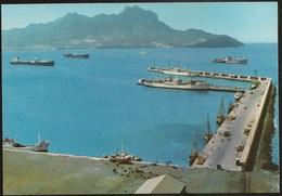 Postal Cabo Verde - Cape Verde - Ilha De S. Vicente - Cidade Do Mindelo - Porto Grande - Postcard - Cape Verde