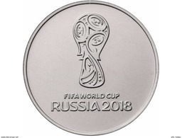 Russia, 2016 World Cup 2018 25 Rbl Rubels UNC - Russland