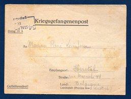 Kriegsgefangenenpost.  Stalag IX A Ziegenhain. Censure 54.  Septembre 1940 - 1939-45