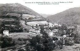 Le Pont Du Bouchet Sur La Sioule, Canton De Saint-Georges-de-Mons - Environs De La Chartreuse - Très Beau Plan - Autres Communes