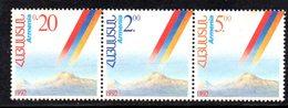 726 490 - ARMENIA 1992 , Serie  Unificato N. 172/174  Nuovo *** - Armenia