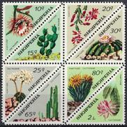 Albania 1973 _ Cactuses - Full Set MNH** - Albania