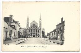 REIMS - Eglise Saint Remi - Grand Portail - Reims