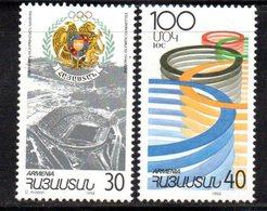 734 490 - ARMENIA 1994 , Serie  Unificato N. 210/211  Nuovo ***  Cio - Armenia
