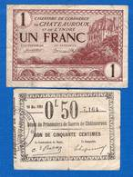 Chateauroux  2  Billets - Chamber Of Commerce