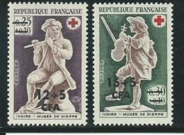 REUNION CFA: **, N° YT 378 Et 379 , TB - Reunion Island (1852-1975)