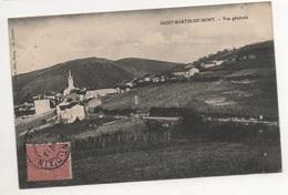 Bes0015 Saint-Martin-du-Mont - Vue Générale 1905 - France