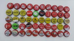 MEXICO - 50 BOTTLE CAPS - COCA COLA - ALL DIFFERENTS - Soda